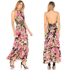 NWT Free People floral maxi dress